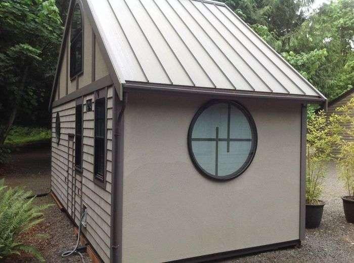 Крихітні будинки в США (9 фото)