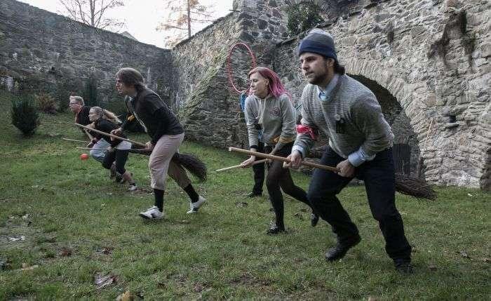 У польському замку Чоха відкрилася школа магії для фанатів Гаррі Поттера (22 фото)
