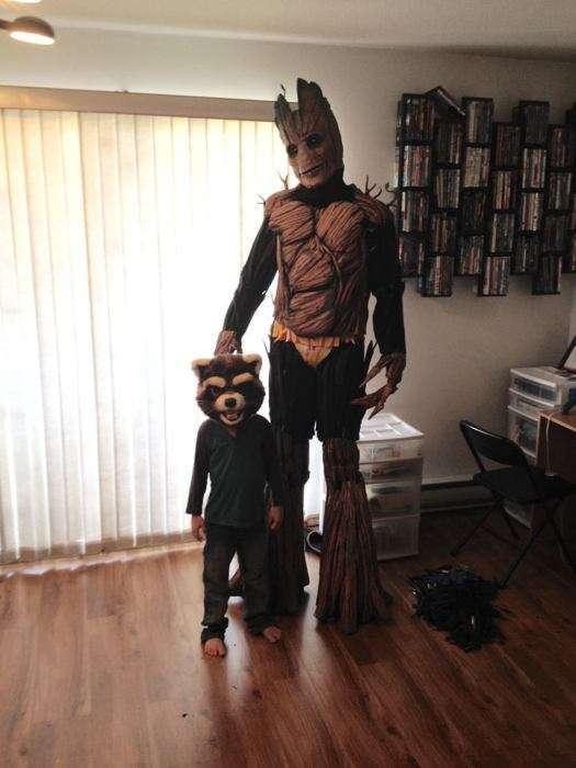Дівчина виготовила для себе костюм Грута (20 фото)