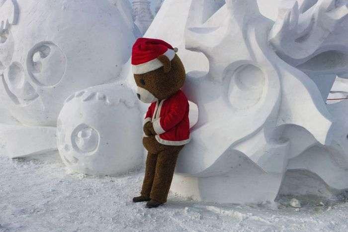 У Харбіні проходить фестиваль скульптур зі снігу та льоду (27 фото)