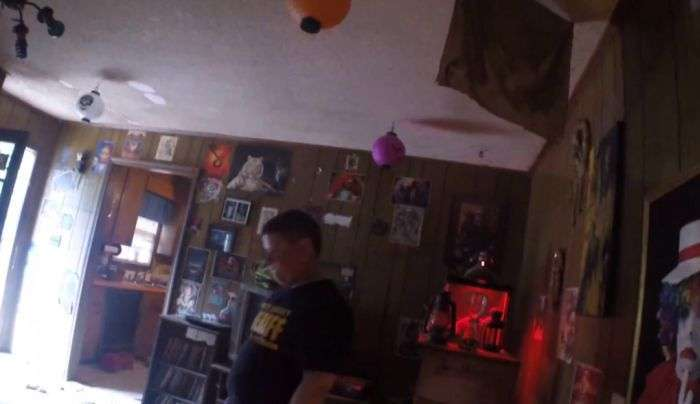 Поліція США прийшла в жах, проводячи обшук у будинку злочинця-сатаніста (33 фото)