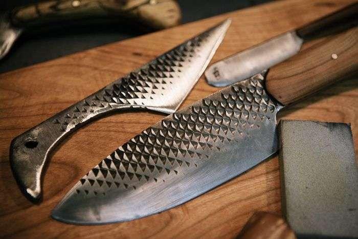 Незвичайні ножі з металевих предметів (30 фото)