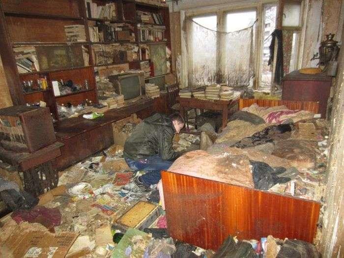 В порожній Петрозаводської квартирі жили понад 20 кішок (9 фото)