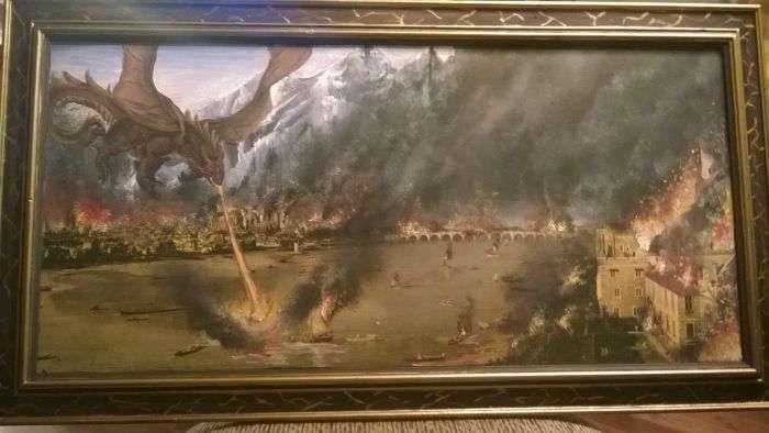 Подарункова картина для батька (3 фото)