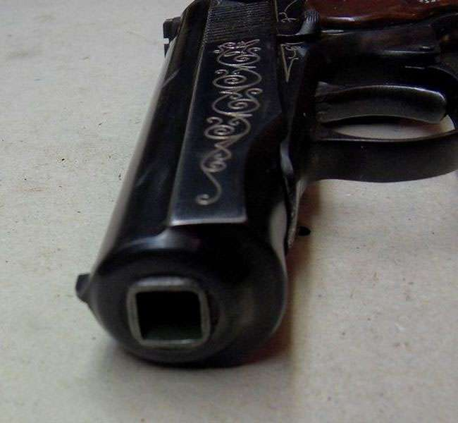 Ексклюзивний нагородний пістолет ПМ-ДО (пістолет Макарова з індексом «К») (3 фото)