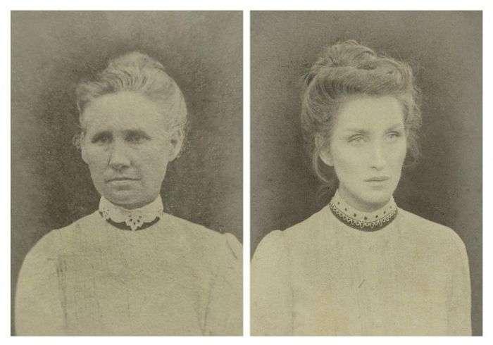 Сім поколінь жінок однієї сімї (7 фото)