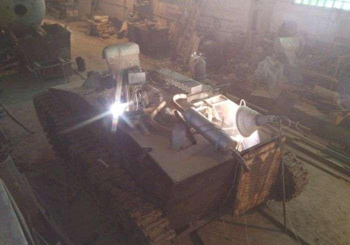 Легкий танк Т-60 своїми руками (52 фото)