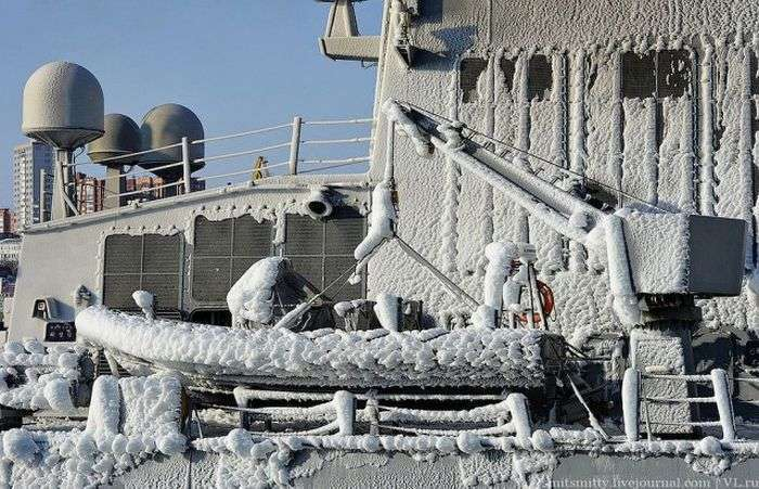 Під Владивосток прийшли корейські військові кораблі (22 фото)