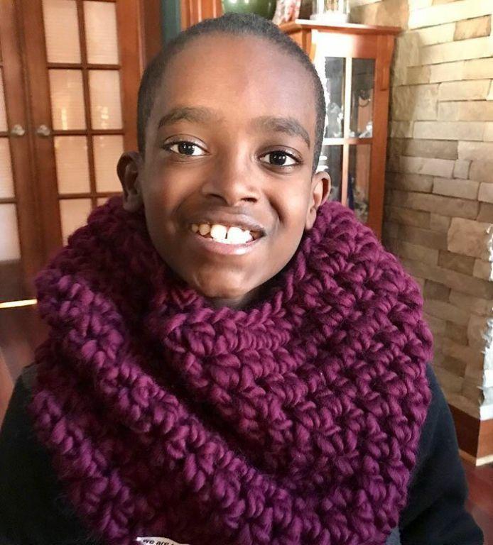 11-летний школьник вяжет так, что бабушки позавидуют Интересное