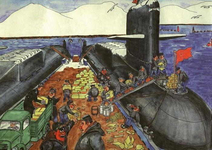Юмор подводников северного флота юмор, приколы,, Юмор