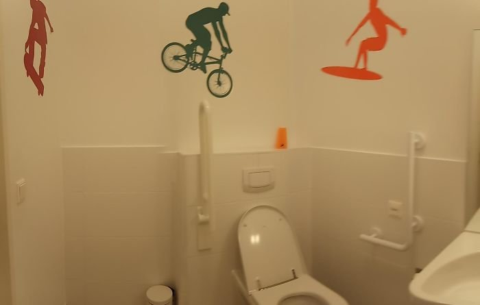 Забавные элементы дизайна из ванной комнаты и туалета юмор, приколы,, Юмор
