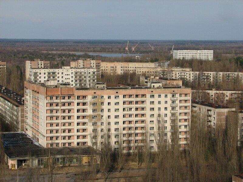 Чернобыльская АЭС, город Припять и зона отчуждения. Как это было 11 лет назад путеествия, путешествие и отдых