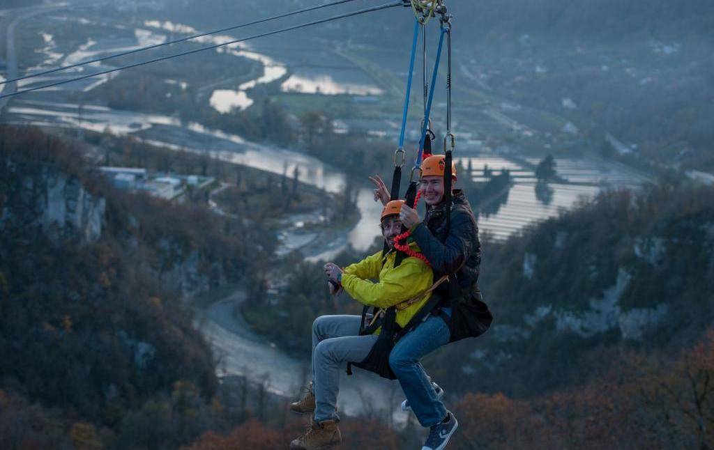 «Скай-парк» в Сочи: прыжок с тарзанки путеествия, Путешествие и отдых
