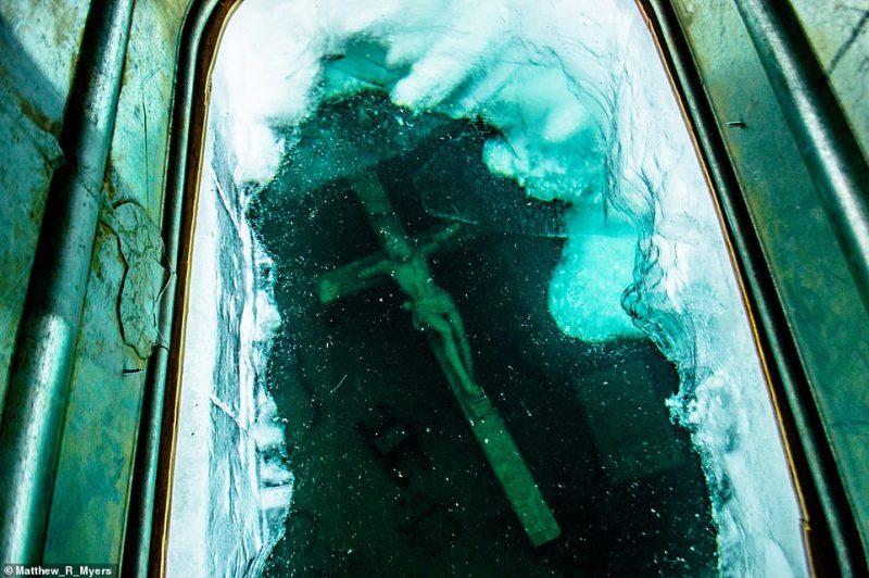 Ледяное волшебство: озеро Мичиган покрылось «чешуей дракона» путеествия, Путешествие и отдых