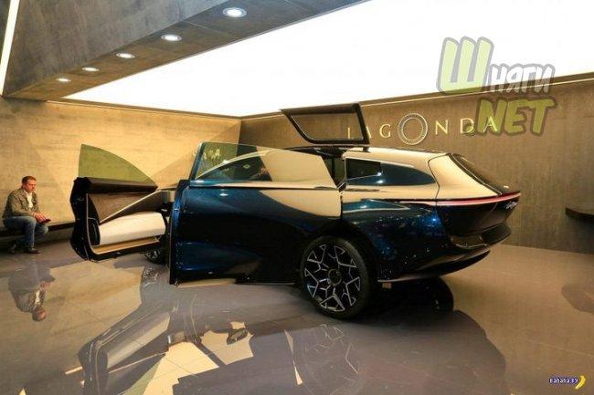 Lagonda –концепт внедорожника от Aston Martin авто