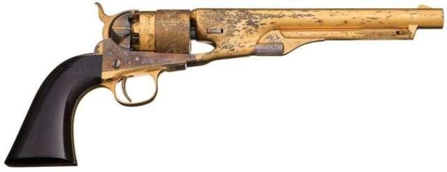 Неземная красота Colt Army Model 1860 Интересное