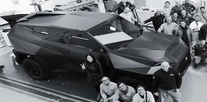 Karlmann King за 2,2 миллиона долларов: футуристичный танк с шикарным салоном авто