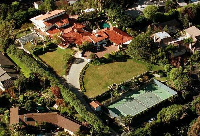 Хоромы Голливуда: как выглядят дома мировых знаменитостей Интересное