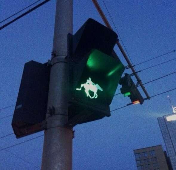 Часть из этих светофоров в России просто противозаконно устанавливать   Интересное