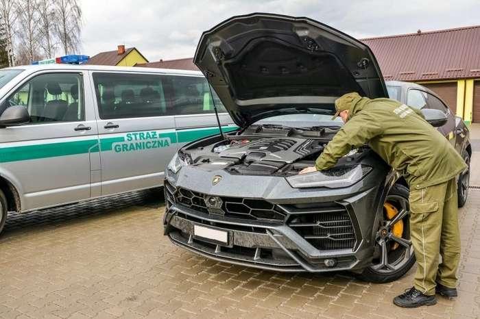 На польской границе «поймали» угнанный кроссовер Lamborghini Интересное