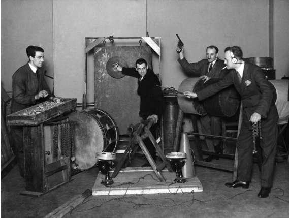 Как делаются звуки в кино Интересное