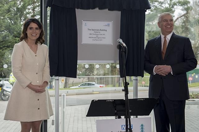 Принцесса Евгения и Джек Бруксбэнк впервые после свадьбы приняли участие в официальном мероприятии Монархии