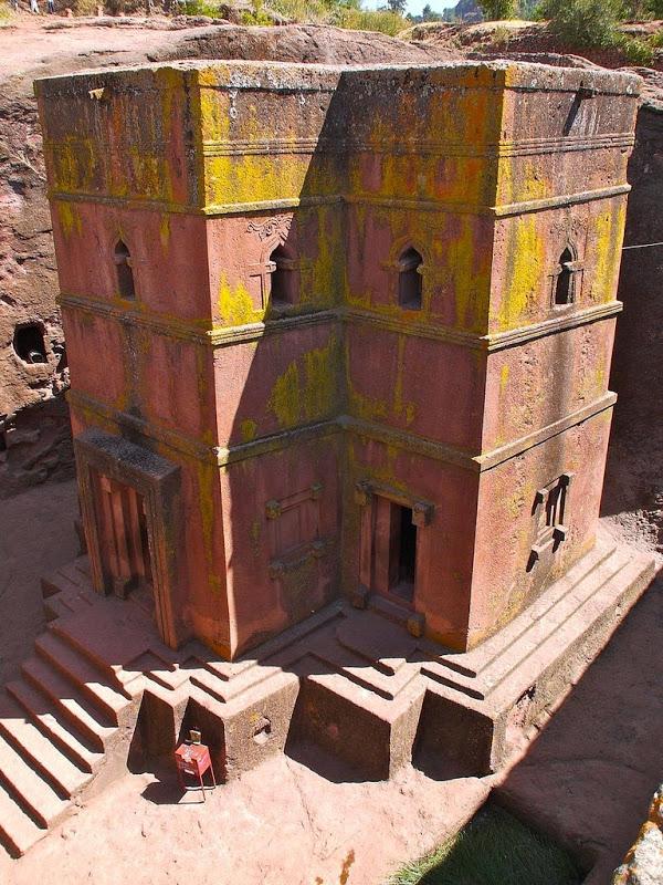 Уникальные монолитные церкви в горах Эфиопии автотуризм