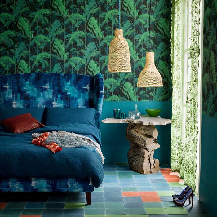 Зеленый – идеальный цвет для спальни: 7 элегантных примеров зеленый цвет
