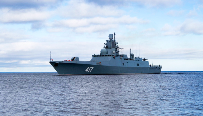 Куда идёт «Адмирал Горшков», неизвестно. Но многим страшно вмф