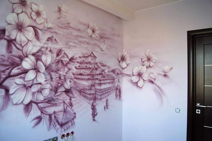 Оригинальный декор стен своими руками декор