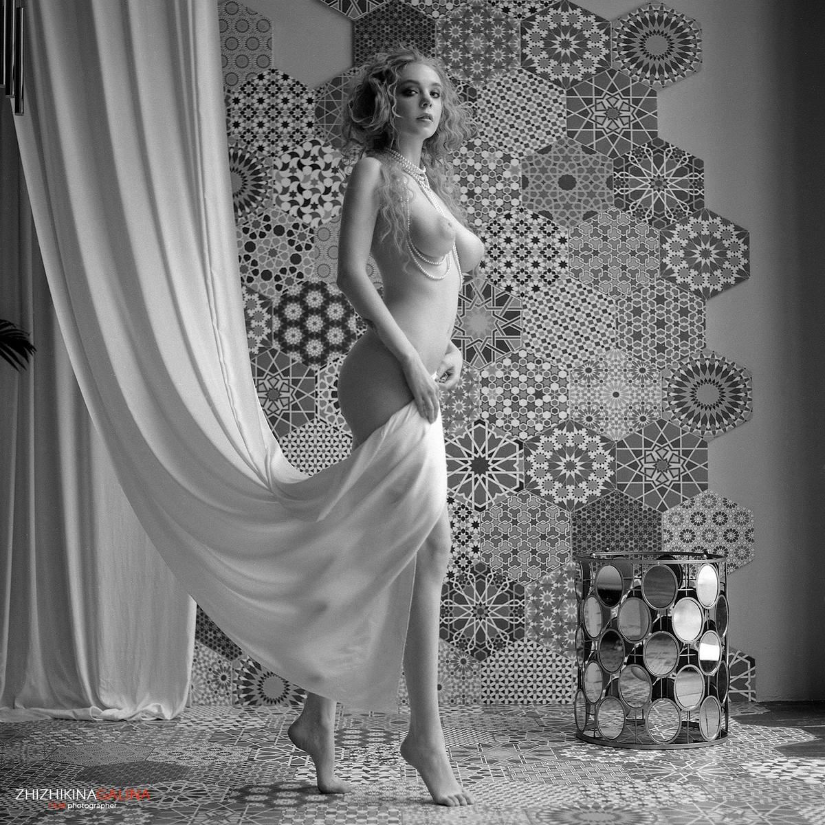 Черно-белое Ню Галины Жижикиной фотография
