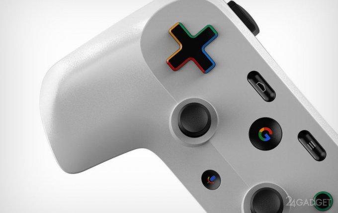 Google создаст геймпад с дисплеем и голосовым ассистентом Google