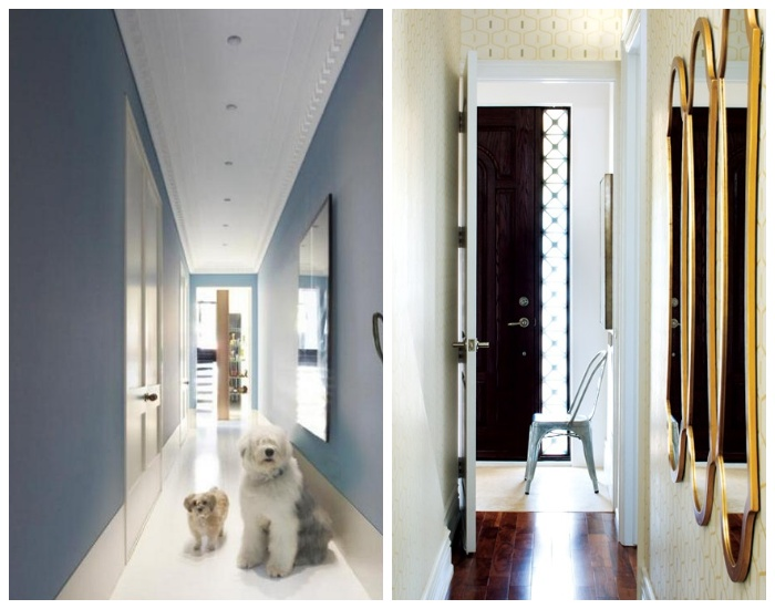 Длинный узкий коридор: дизайнерские хитрости, которые помогут максимально «расширить» пространство интерьер и дизайн