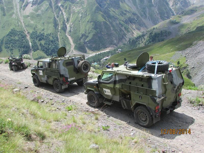 Семейство автомобилей и броневиков «Скорпион» оружие