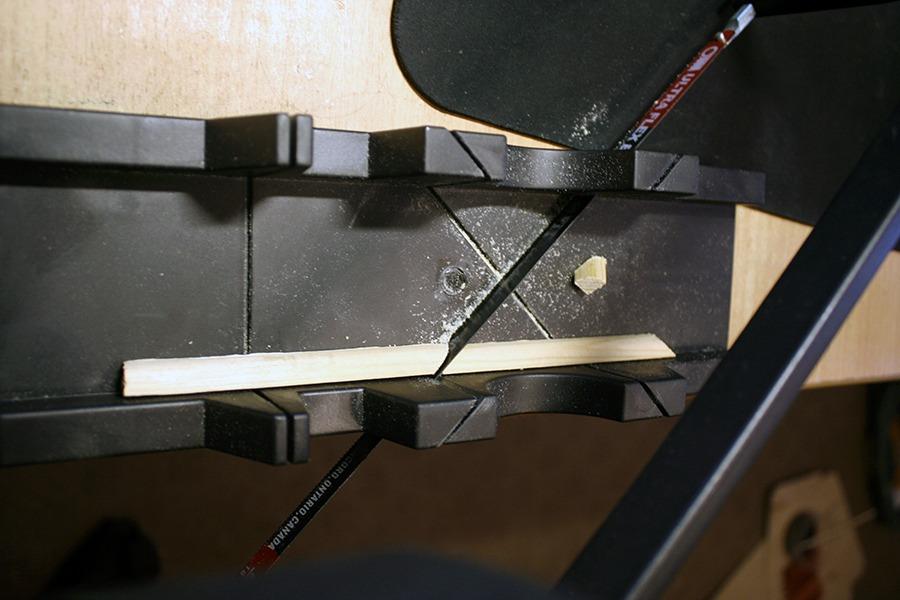 Как сделать маленькую рамочку из оконных штапиков домашний очаг...