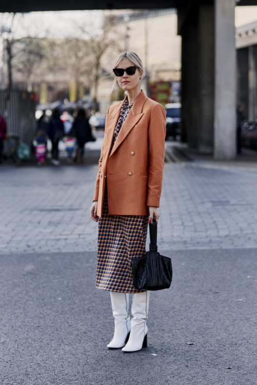 Модный street style: стильные повседневные образы для весны лучшее