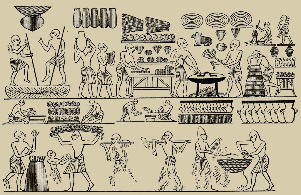 Кухня Древнего Египта: что ели фараоны археология