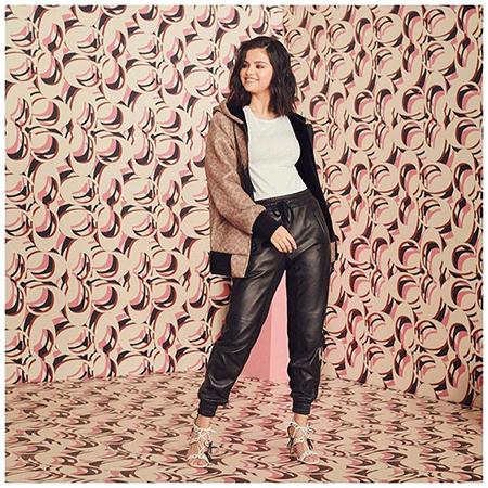 Селена Гомес снялась в новой рекламной кампании Coach Звезды в рекламе